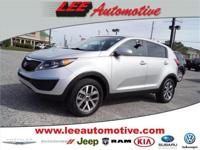 Test drive this 2014 Kia Sportage located at Lee