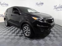 2014 Kia Sportage Black Cherry LX CARFAX One-Owner. **