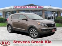 Options:  2014 Kia Sportage Lx Sport