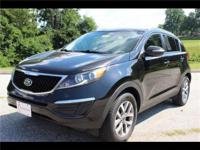 Roomy yet still easy to maneuver! This Kia Sportage has