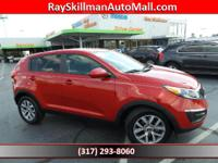 ONLY 45,305 Miles! LX trim. Bluetooth, CD Player,