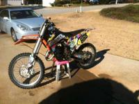2014 KTM 150 SX GREAT VALUE With a stronger engine the