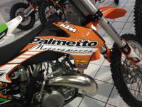 2014 KTM 250 SX Demo Race bike in terrific shape!