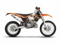 Make: KTM Year: 2014 Condition: New MSRP $8499 The 300