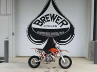 2014 KTM 65 SX FULLY SERVICED WITH NEW BRAKES AND FRONT