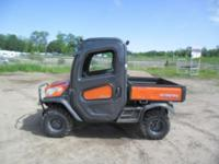 Up for auction: 2014 Kubota RTV- X1100C Utility