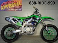 2014 KX450. This bike is completely done and ready to
