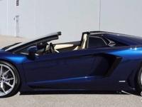 This is a Lamborghini Aventador for sale by Crave