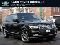 CERTIFIED!! LAND ROVER CERTIFICATION GIVES YOU 6 YEARS