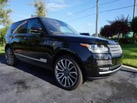 This 2014 Land Rover Range Rover is featured in Black