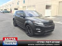 Great MPG: 30 MPG Hwy!! This able Range Rover Evoque,