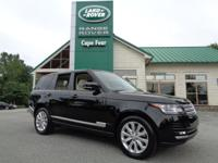 2014 Range Rover HSE. One-Owner Local Trade! This