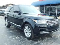 Options:  2014 Land Rover Range Rover Hse|***No Dealer
