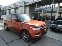 Clean CARFAX. Red 2014 Land Rover Range Rover Sport