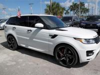 CARFAX One-Owner. Clean CARFAX.  White 2014 Land Rover