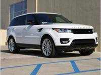 Land Rover Certified! This 2014 Range Rover Sport