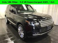 Only 18k Miles - 5.0 V8 Supercharged AWD / 4x4 -