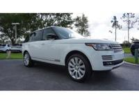 This 2014 Land Rover Range Rover is featured in White .