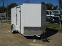 2014 Lark United LK612SA V-Nose 6x12 This 6x12 V-Nose