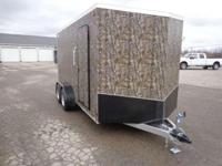 (989) 607-4841 ext.205 7' x 16' Enclosed All Aluminum