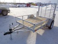 (989) 607-4841 ext.261 5' x 8' Open All Aluminum