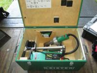 2014 Leister Varimat V2 Welder (V2 40, 230V/4600W) with
