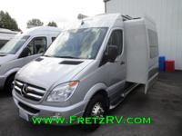 2014 Leisure Travel Van Free Spirit SS Slide Mercedes