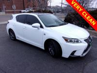 New Price! 2014 Lexus CT 200h 1.8L 4-Cylinder DOHC 16V