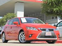 New Price! 2014 Lexus CT 200h Navigation, Sunroof