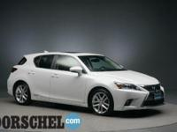 Certified with new tires!!Starfire Pearl 2014 Lexus CT