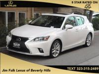 ONE OWNER!!  Hybrid! Drive this home today! This CT200H