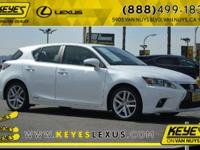 2014 Lexus CT 200h CARFAX One-Owner. Concerned about
