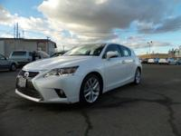 Check out this 2014 Lexus CT 200h Hybrid. It has a