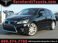 We are delighted to offer you this 2014 Lexus CT200H