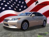CARFAX One-Owner. Clean CARFAX. Gold 2014 Lexus ES 300h