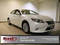 This LUXURIOUS, ONE OWNER, 2014 LEXUS ES350 will