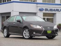 ** BEAUTIFUL SHAPE GOOD MILES ** This 2014 Lexus ES350