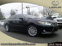 Once you test drive this L/Certified 2014 Lexus ES 350