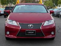 Options:  2014 Lexus Es 350|Red/Parchment|V6 3.5 L