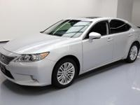 2014 Lexus ES with 3.5L V6 Engine,Heated And Ventilated