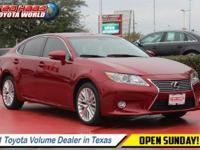This Lexus ES 350 has a dependable Regular Unleaded V-6