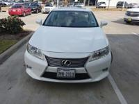 We are excited to offer this 2014 Lexus ES 350. This