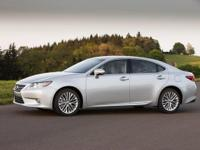 2014 Lexus ES 350. Light Gray Leather. All the right