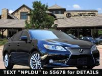 Ultra Luxury ES350! L/ Certified, CARFAX 1-Owner,