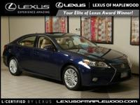 L/ Certified CARFAX 1-Owner GREAT MILES 45 510! ES 350