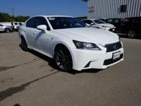 Clean CARFAX. White 2014 Lexus GS 350 RWD 8-Speed