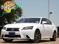 2014 Lexus GS Ultra White 8-Speed Automatic with