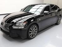 2014 Lexus GS with F-Sport Package,3.5L V6