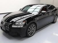 2014 Lexus GS with F Sport Package,3.5L V6 DI