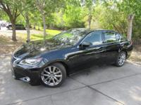 This 2014 Lexus GS 350 4dr 4dr Sedan RWD features a